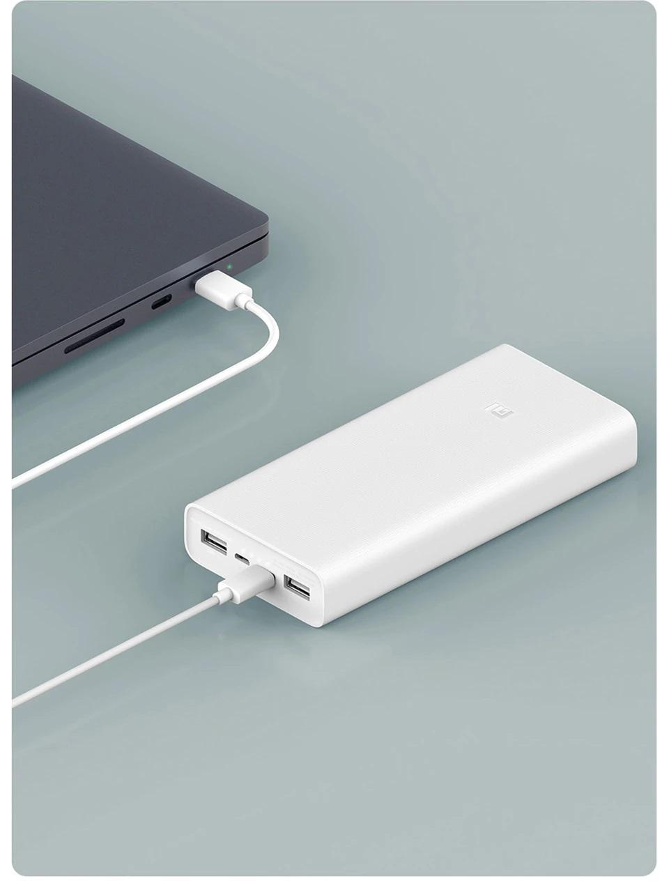 Внешний аккумулятор Xiaomi Mi Power Bank 3 20000 mAh Type-C