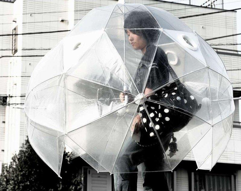 Шарообразный зонт