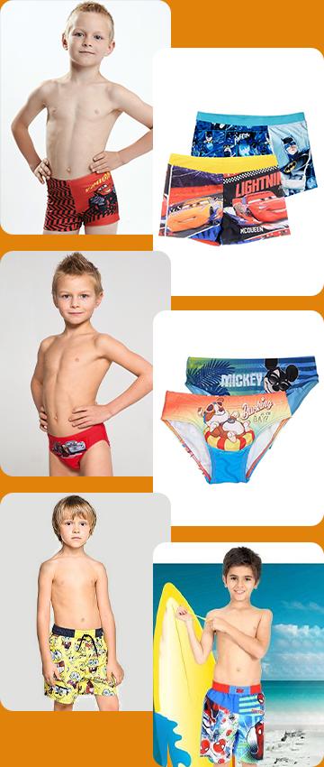 Плавки для мальчиков, купальные шорты для мальчиков