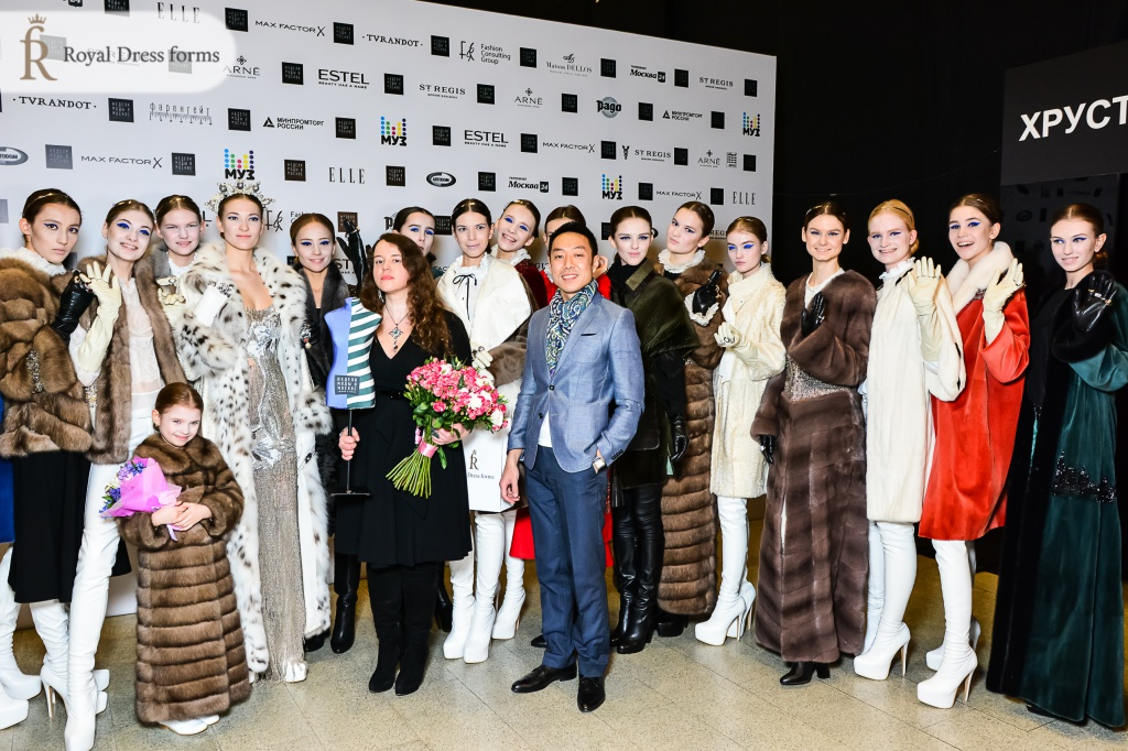 Мария Шошева и женские манекены Royal Dress forms