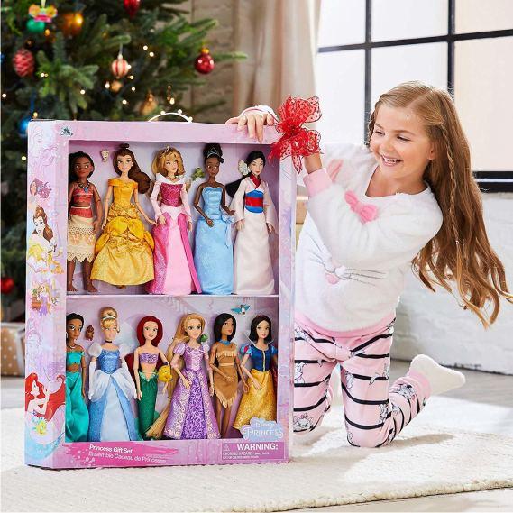 Эксклюзивный набор из 11 кукол Принцессы Диснея