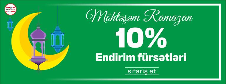 10% endirim