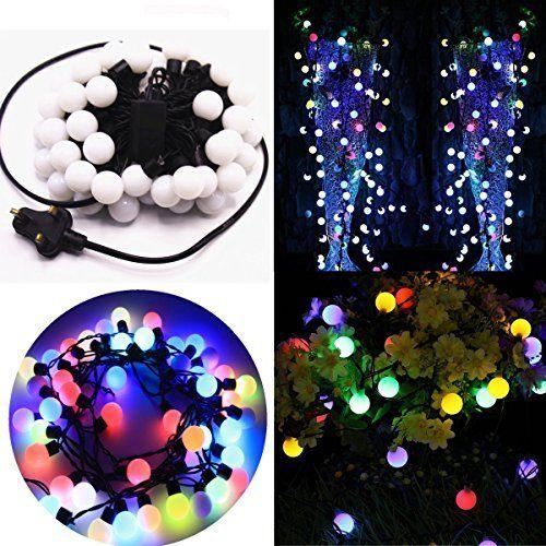 шарики 10 м 100 led светодиодные гирлянды