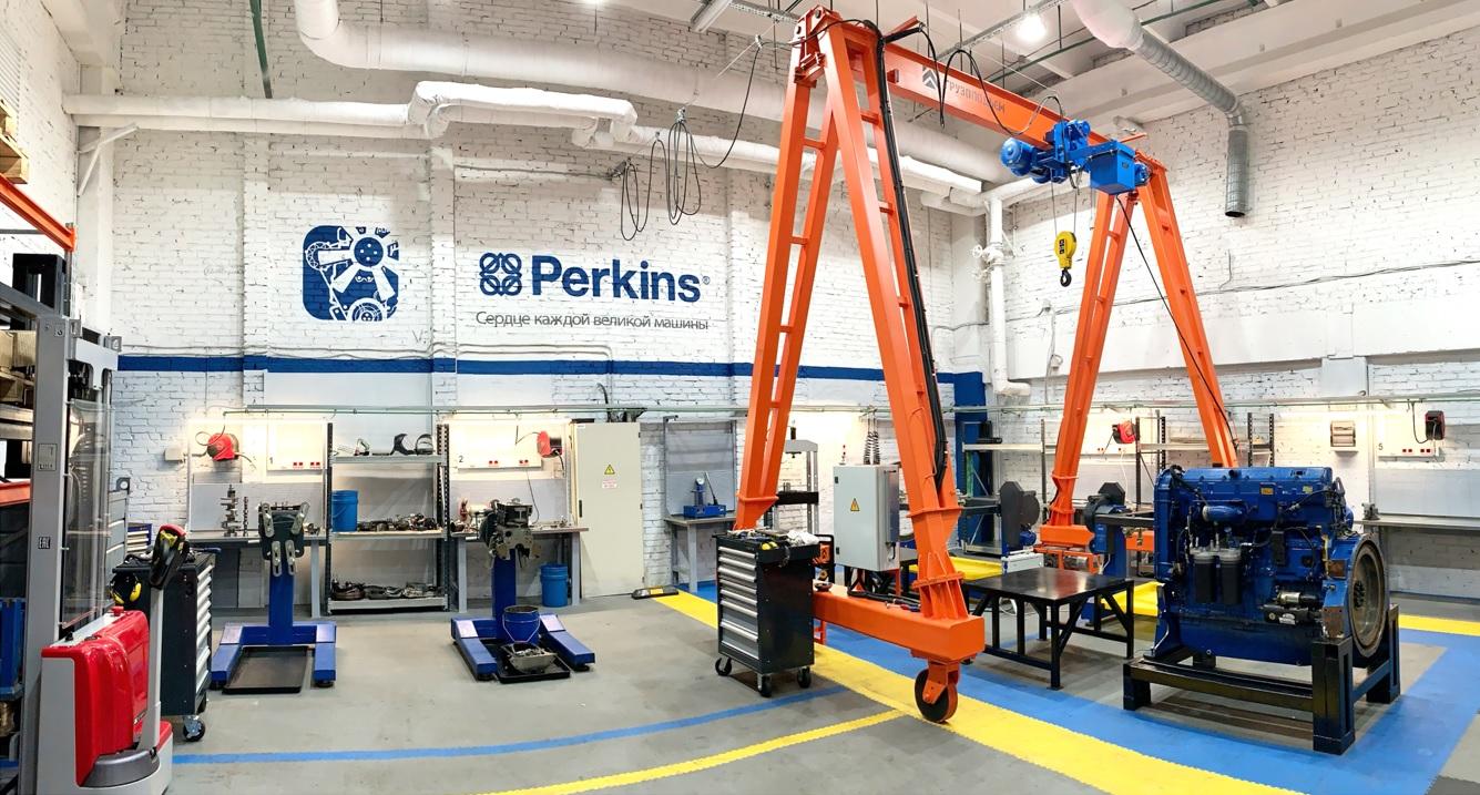Сервис Perkins - центр ремонта и обслуживания