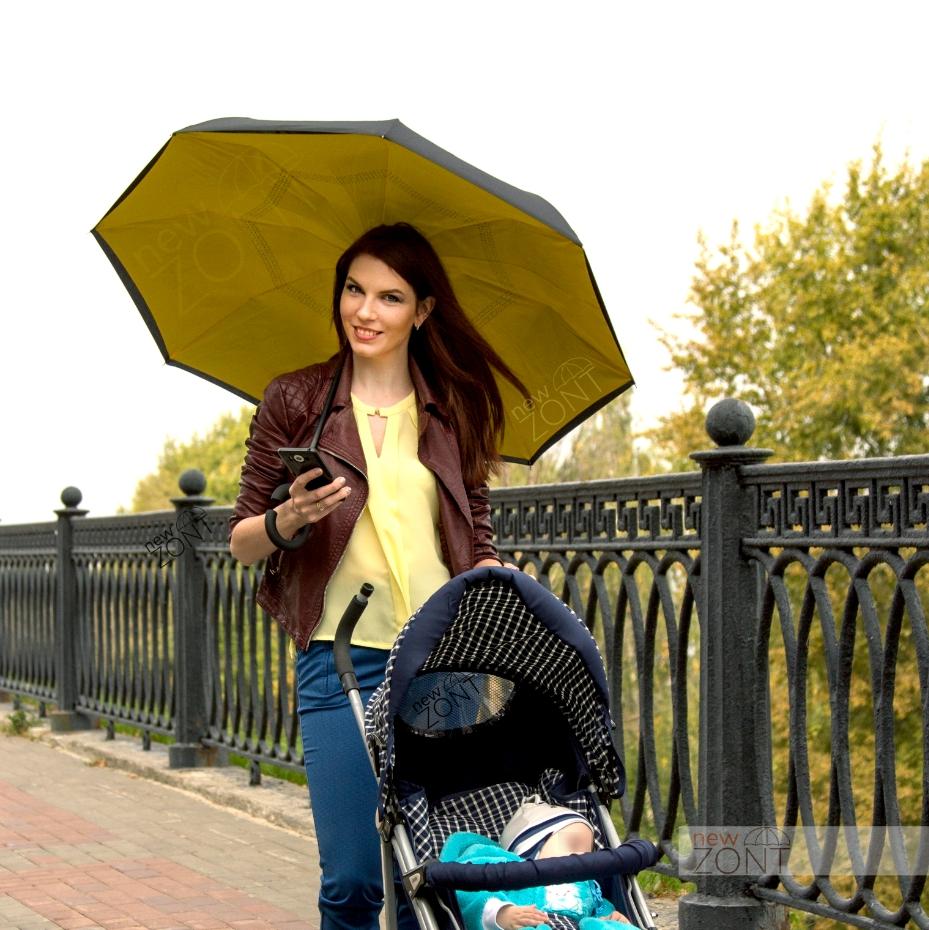 Анти зонт обратного сложения