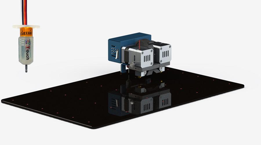 Автоматическое выравнивание платформы для идеальных поверхностей