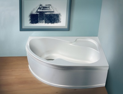 Конструктивные особенности угловой ванны