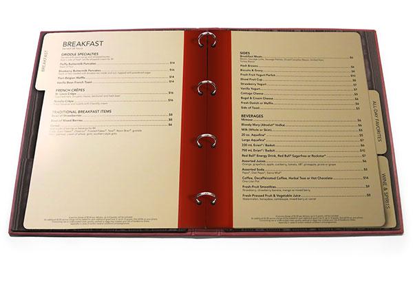 Адресные закладки. Ламинированные вырубные листы внутреннего блока