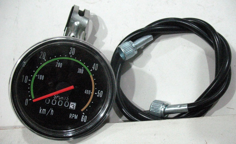 Велосипедный тросовый одометр со спидометром