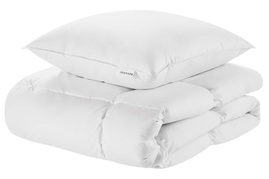 Пуховая подушка и пуховое одеяло из коллекции Syli Joutsen