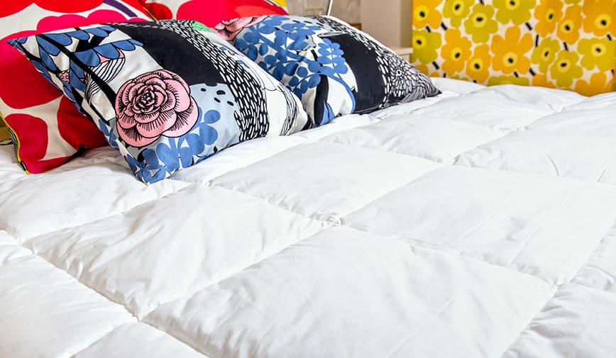 Подушки и одеяла Йоутсен для здорового сна