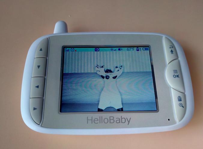 Видеоняня HelloBaby HB65 ночное видение