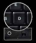 Logitech® Incurve keys™