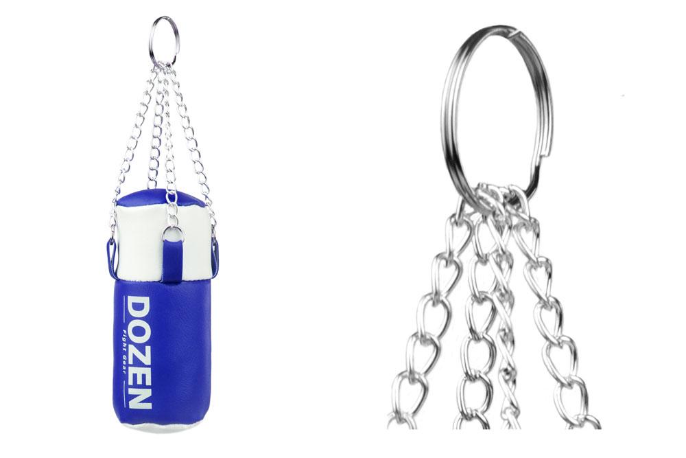 Брелок мини-мешок Dozen Light синий конструкция