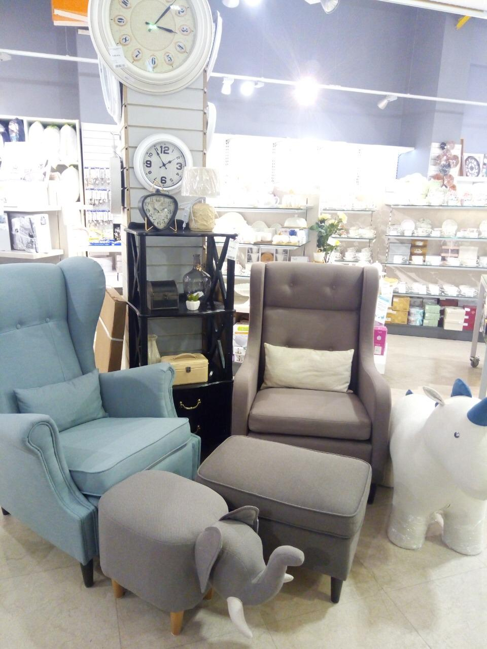 Кресла для отдыха Leset Vintage и Montego фото в интерьере