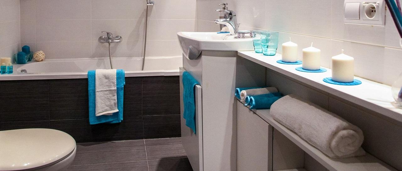 Объединенные ванная с туалетом