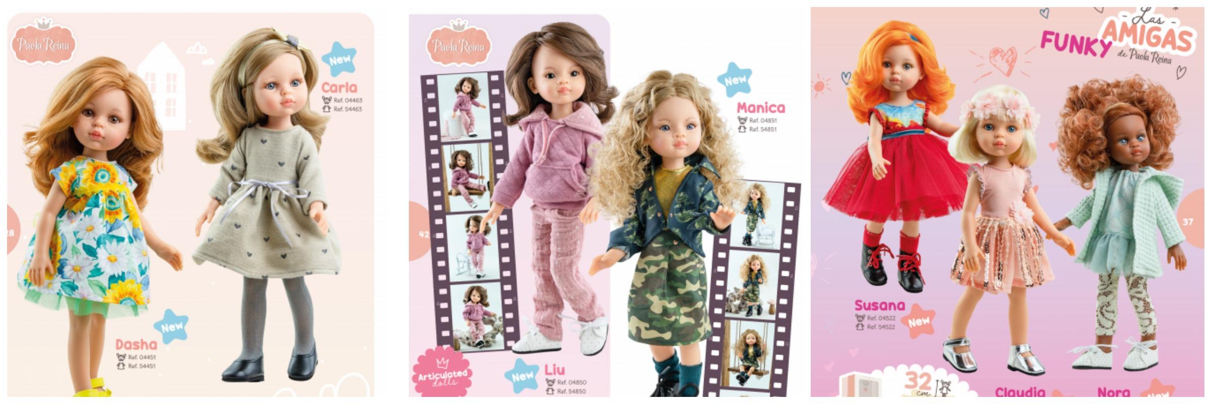 испанские ванильные куклы паола рейна 2021