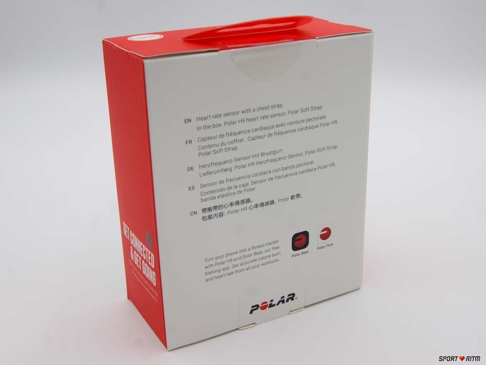 Нагрудный пульсометр Polar H9