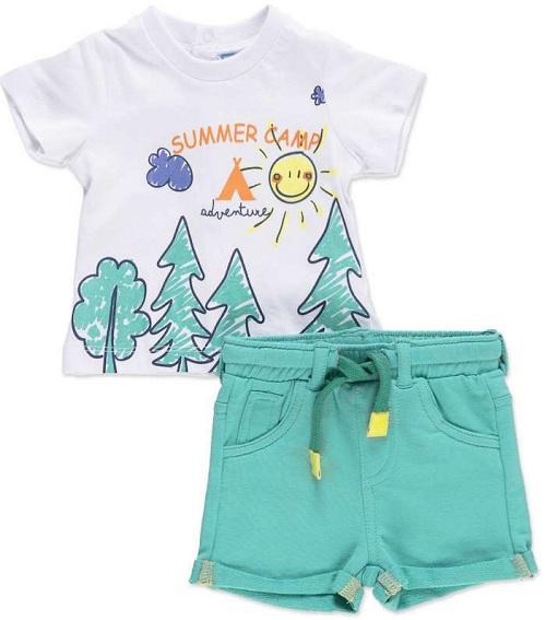 Комплект Losan (футболка и шорты) Summer Camp купить в интернет-магазине Мама Любит!