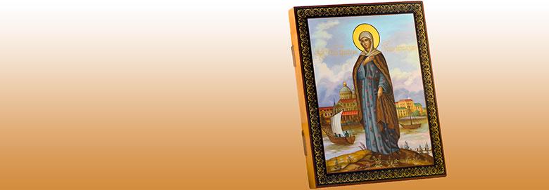 Икона<b>«Святая блаженная Ксения Петербургская»</b>