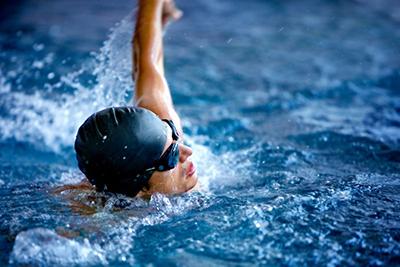 Фото мужская шапочка для плавания