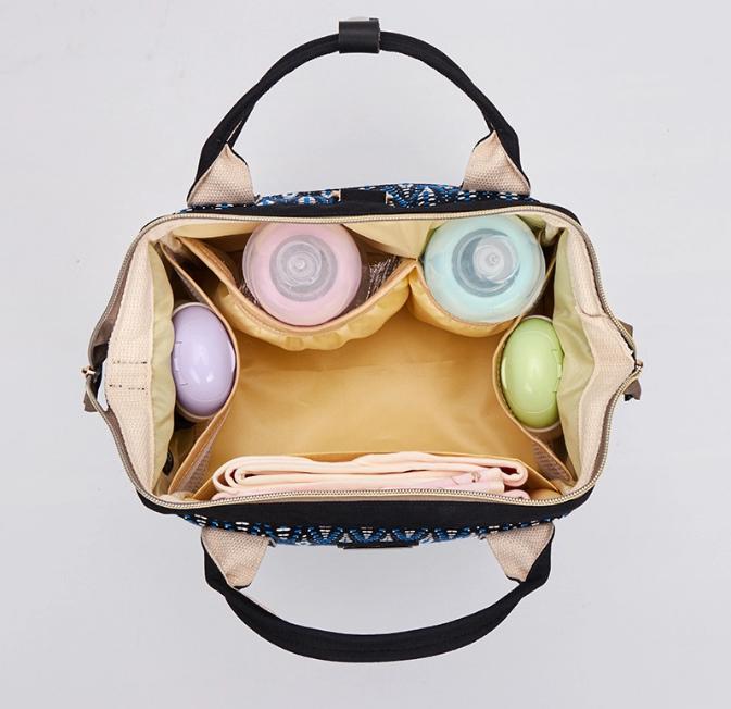 Сумка-рюкзак для мам 2в1 BABUTKA