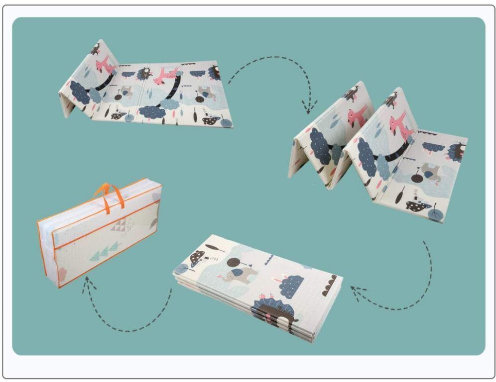 Складной коврик для путешествий с детьми Babutka