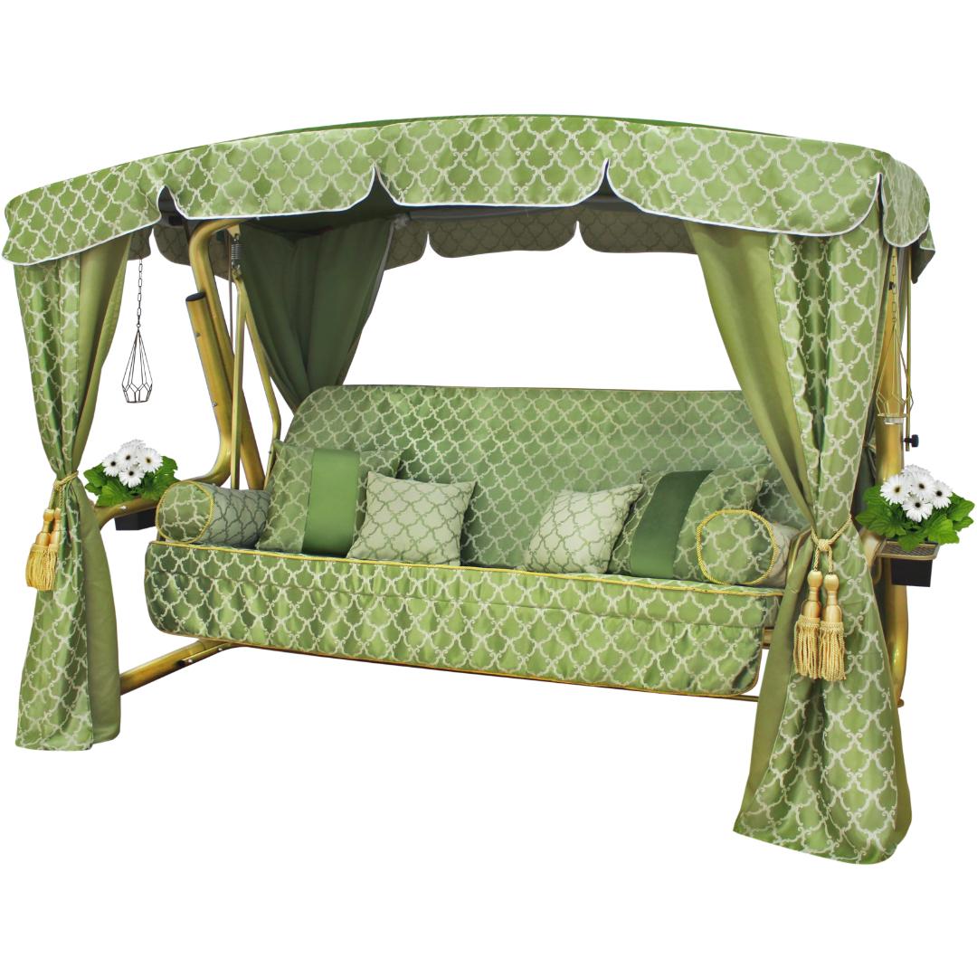 Княгиня зеленая сбоку