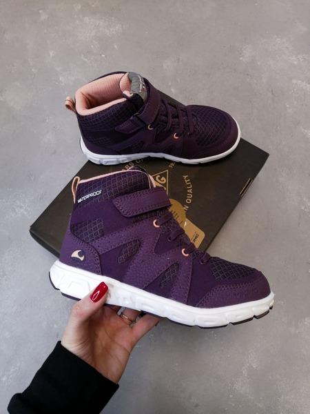 Полуботинки Viking Tolga Mid WP Purple/Aubergine демисезонные