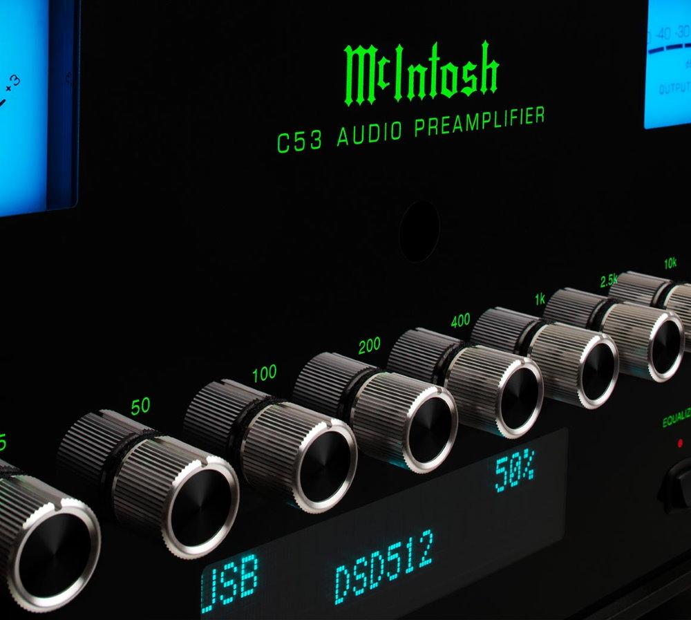 Предусилитель McIntosh C53