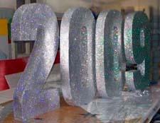 Новогодние буквы