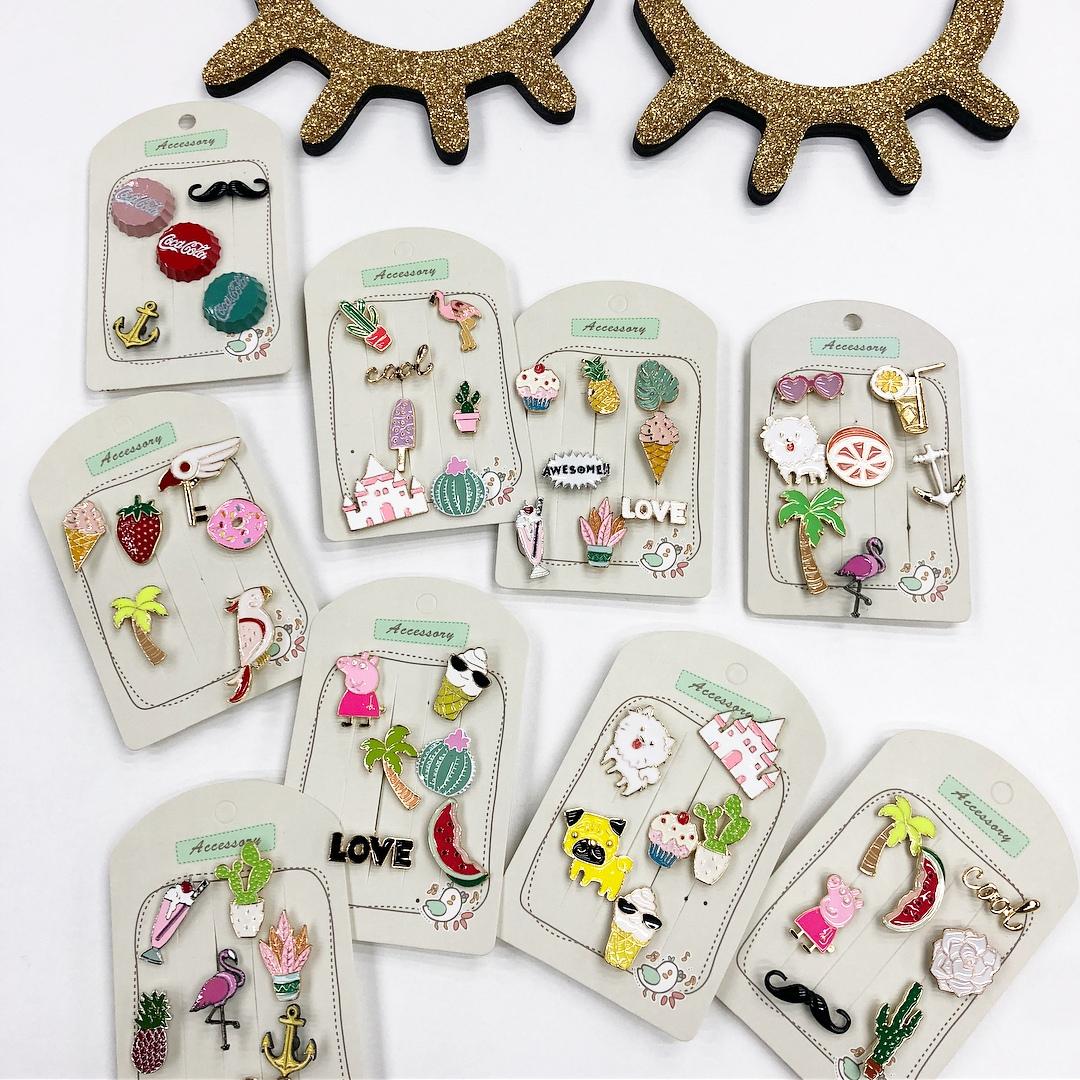 Детские декоративные брошки