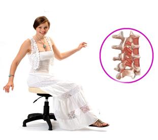 Как укрепить мышцы спины? Сидим на Танцующем стуле