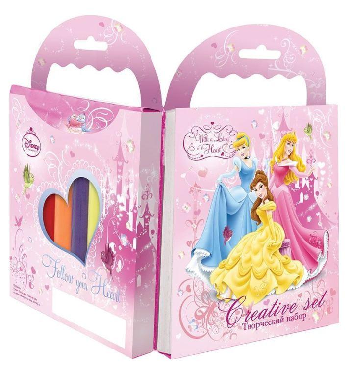Набор Принцессы раскраска с карандашами