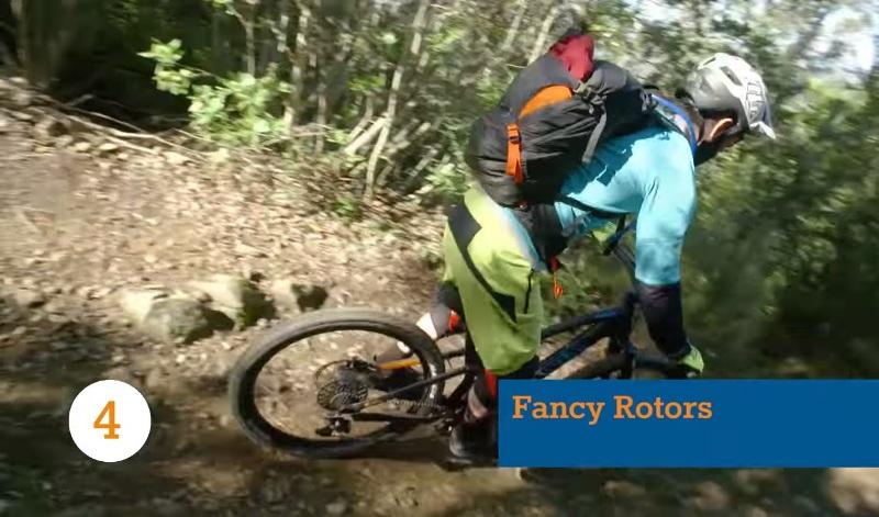 Роторы велосипеда