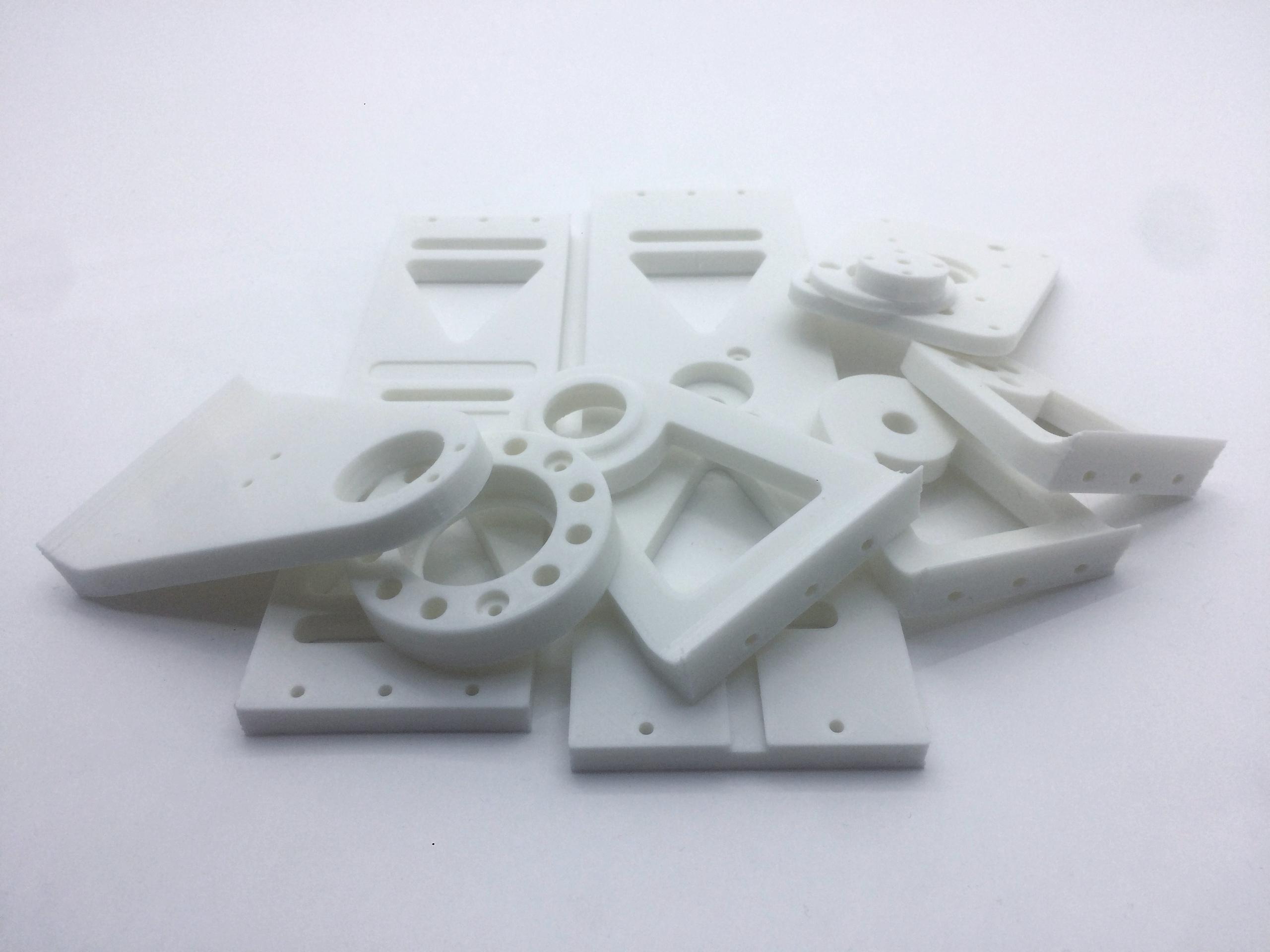 PETG белый — пластик для 3D-принтера 1,75 мм Bestfilament