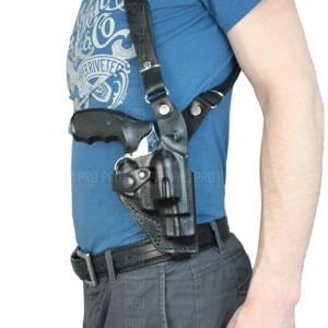 Оперативные кобуры для револьверов вертикального ношения