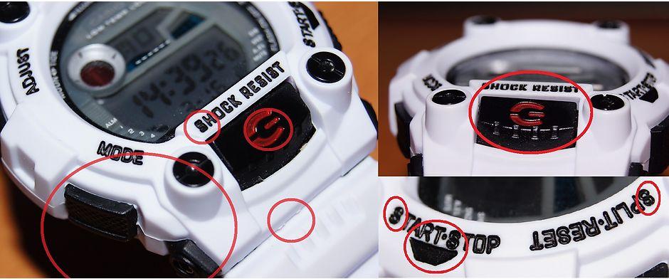 Подделка Casio G-shock отличия от оригинала