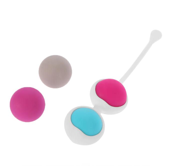 Тренажер Кегеля-вагинальные шарики в силиконовой обойме
