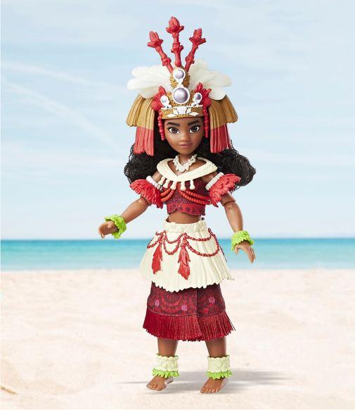 Кукла Моана - серия Церемониальное платье