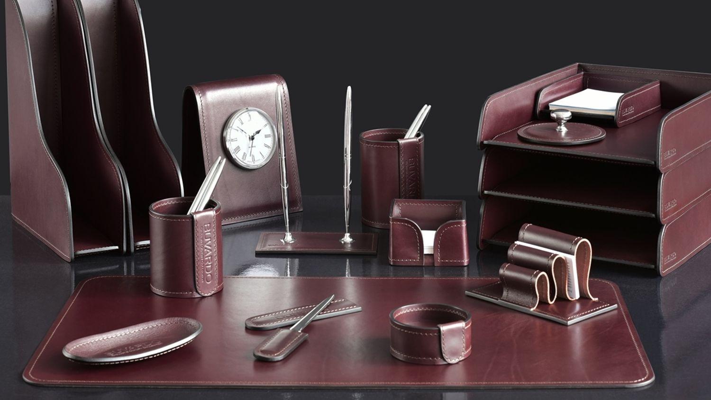 Фото набор руководителя серия Премиум цвет Brown с черным.