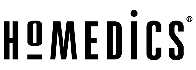 Логотип производителя аппаратов Homedics