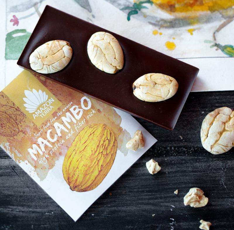 Макамбо или Theobroma bicolor - ближайший родственник какао