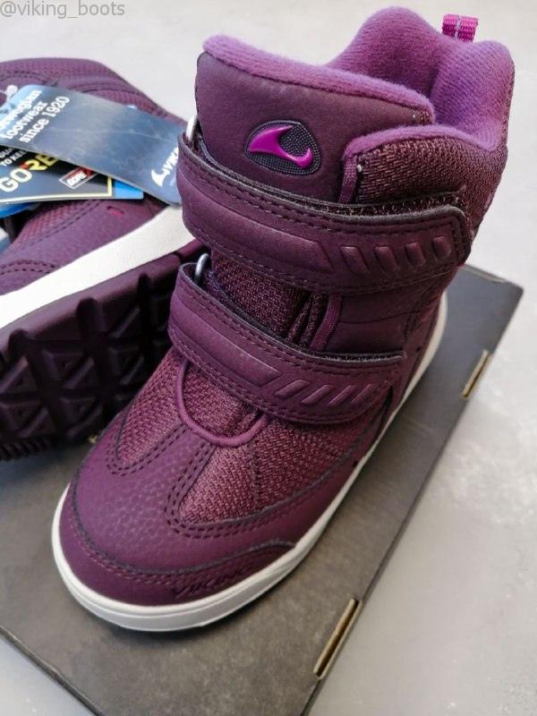Ботинки Viking Toasty купить в фиолетовом цвете (сезон 2020-2021) можно на сайте Viking-boots с доставкой и примеркой по России