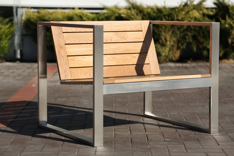 Садовое кресло из дуба TRIF-MEBEL