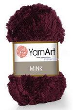 """Mink (YarnArt) - ворсовая пряжа с фактурой """"под мех"""""""