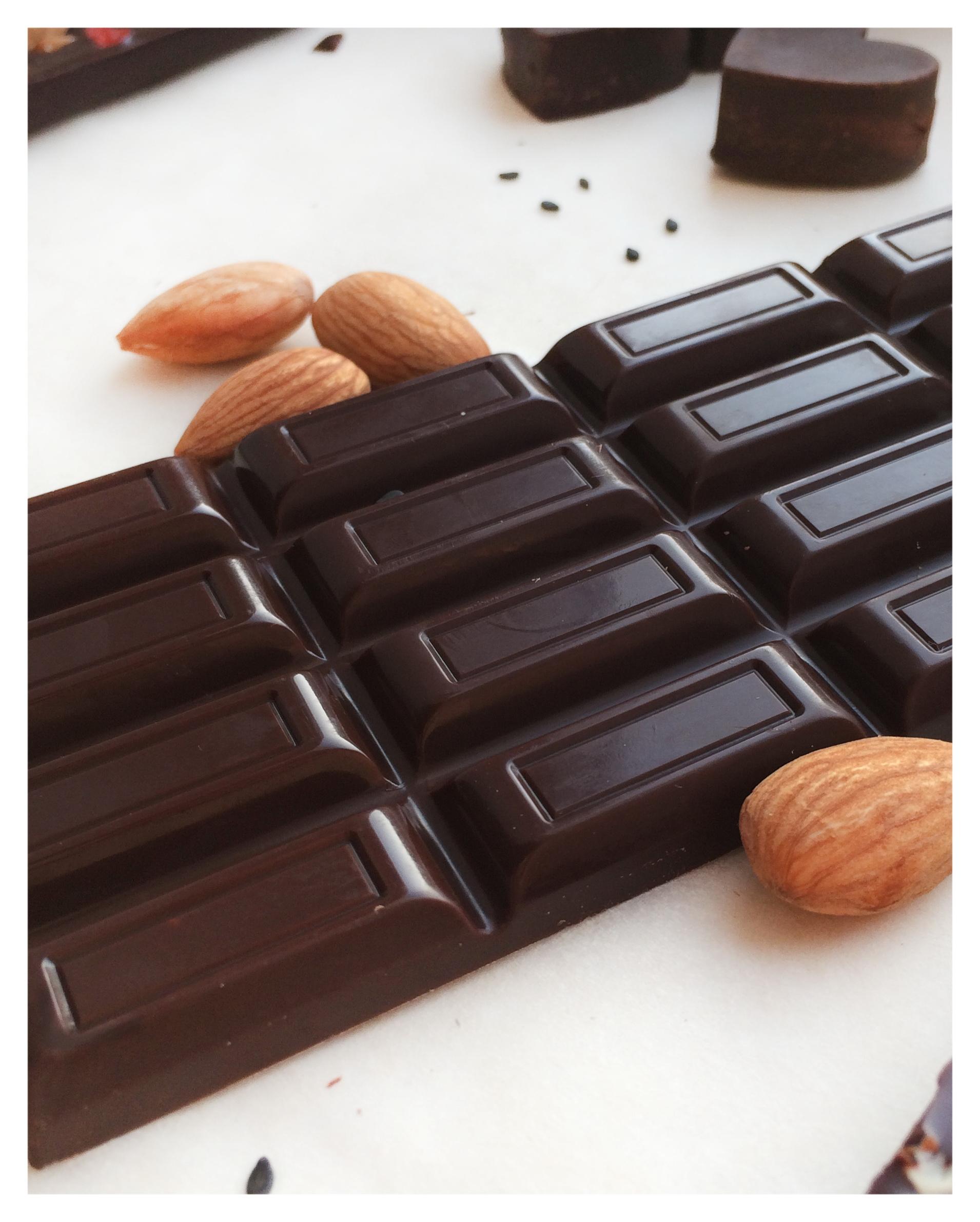 Классический темный Raw-шоколад