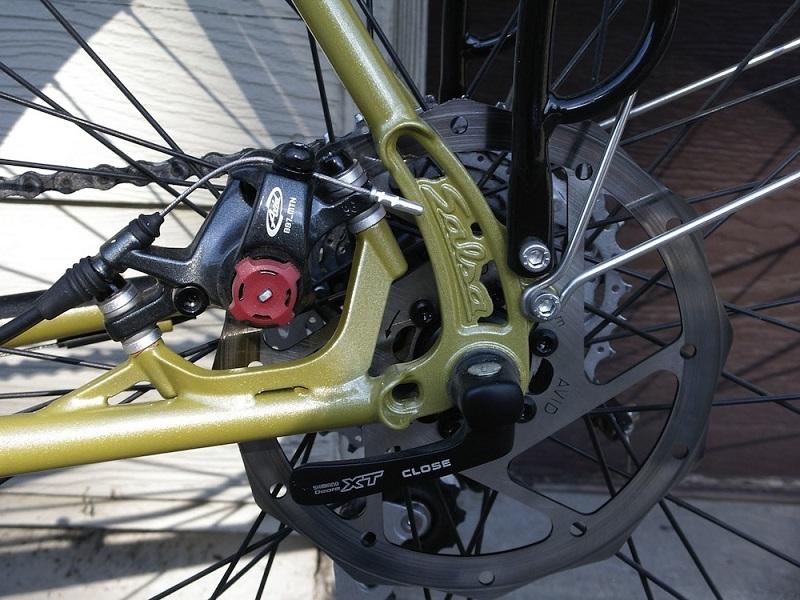 Дисковые тормоза для туристического велосипеда
