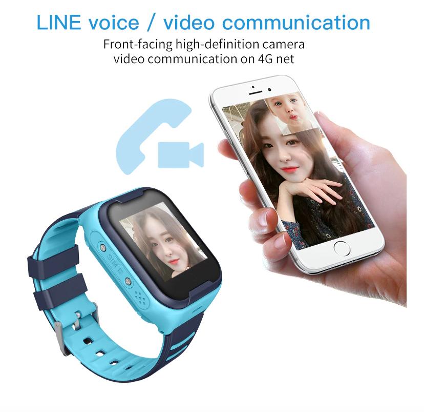 Детские часы с GPS трекером Smart Baby Watch KT11 Водонепроницаемые