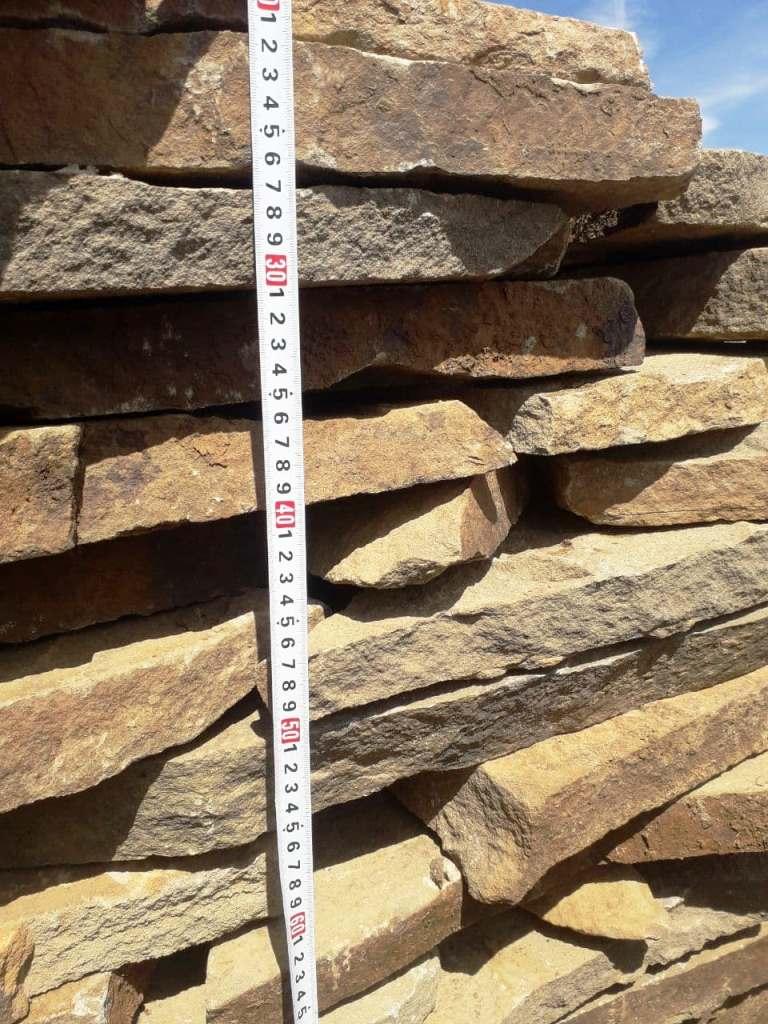 Измерение толщины камня при погрузке